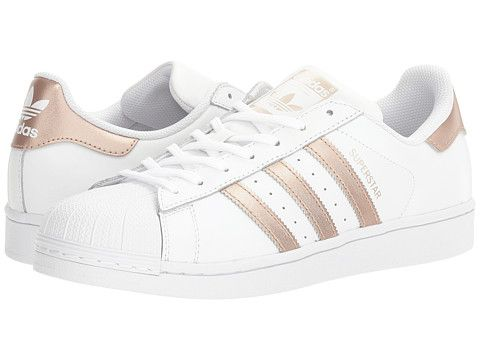 adidas superstar copper metallic stripes