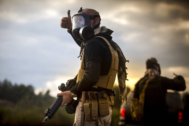 Mira safety cm6m tactical gas mask fullface respirator