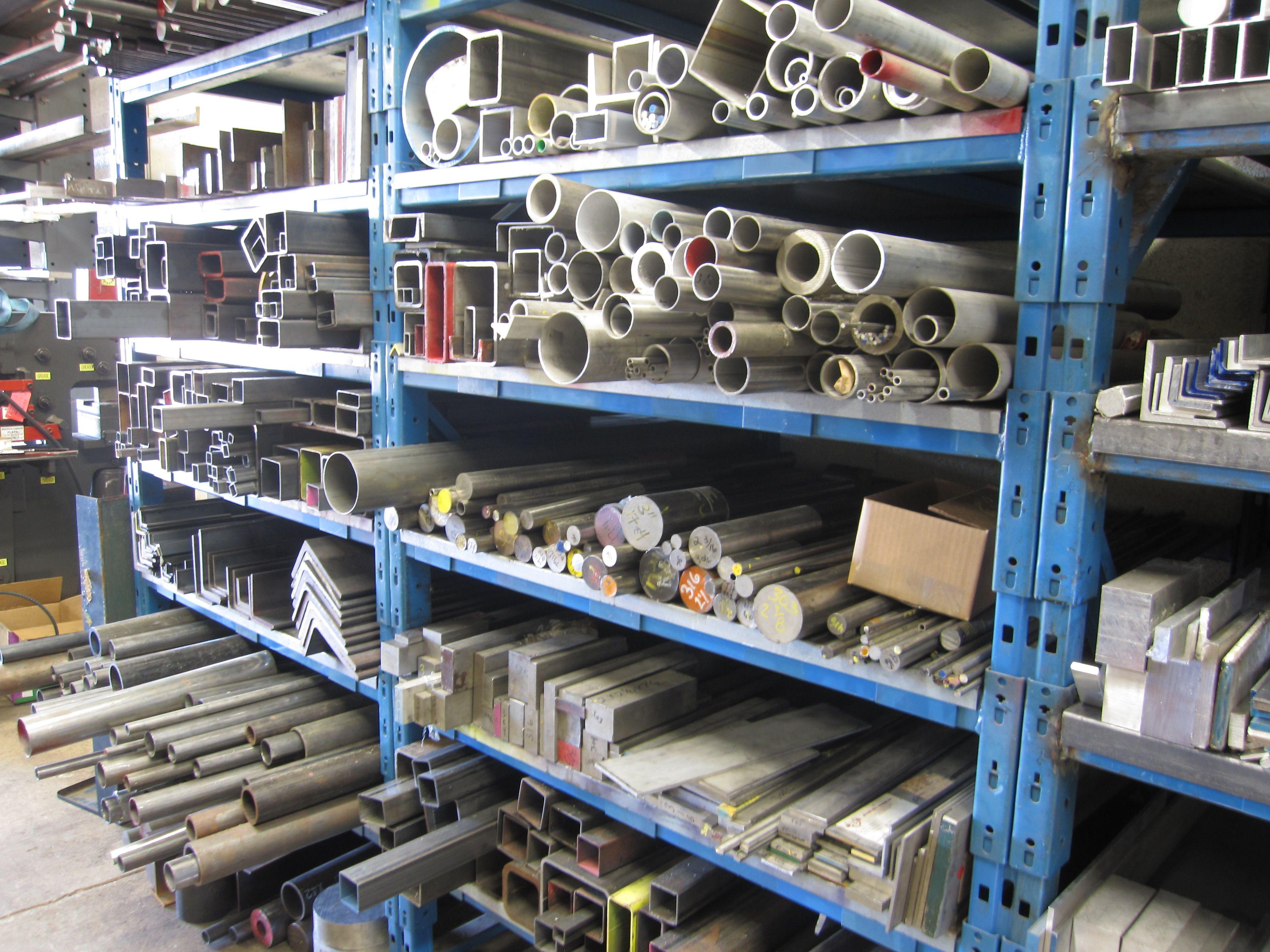 A sliver of the metals we carry at AZ Metals in Mesa, Arizona!