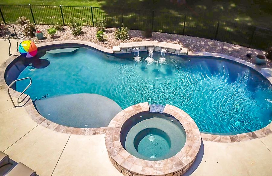 Freeform Inground Pools 240 Bhps Pools Backyard Inground Swimming Pool Designs Swimming Pools Backyard Inground