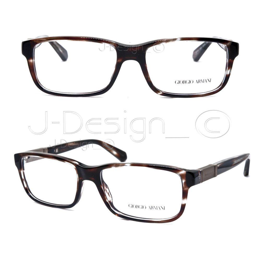 0b9eb68fe5ef Giorgio Armani AR7001 5036 Striped Brown 54 16 140 Eyeglasses Rx Italy - New