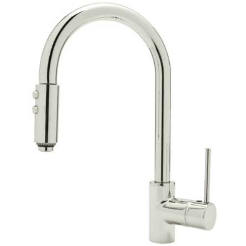 Rohl Ls59Lpn2 Modern Architectural Side Lever Pulldown Kitchen Impressive Rohl Kitchen Faucet Inspiration