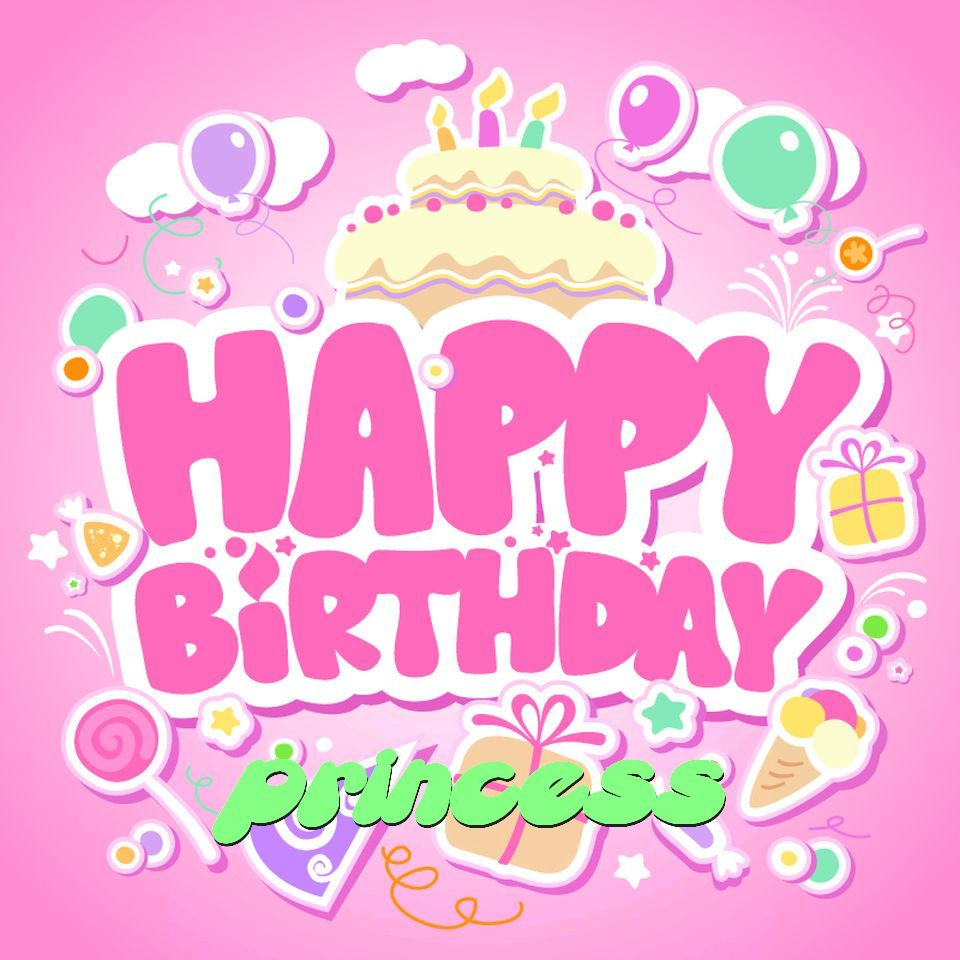 Happy birthday princess images quotes messages and wishes – Happy Birthday Princess Card