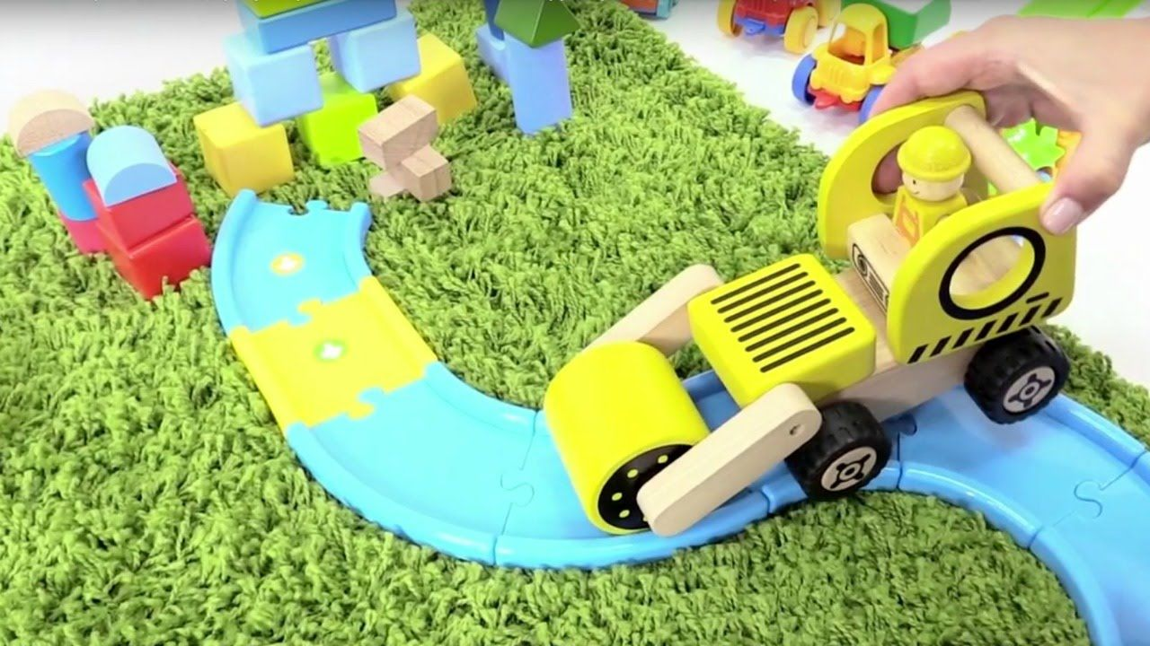 Машинки строят дом и дорогу! Игры для мальчиков ...
