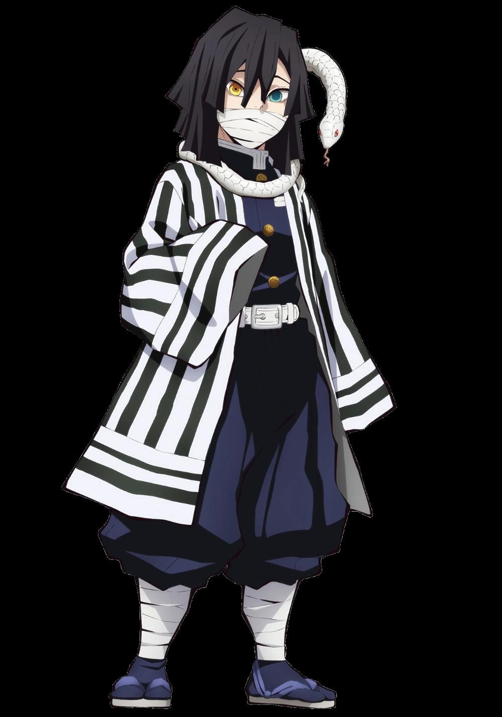 Obanai Iguro Kimetsu No Yaiba Wikia Anime Demon Slayer Demon