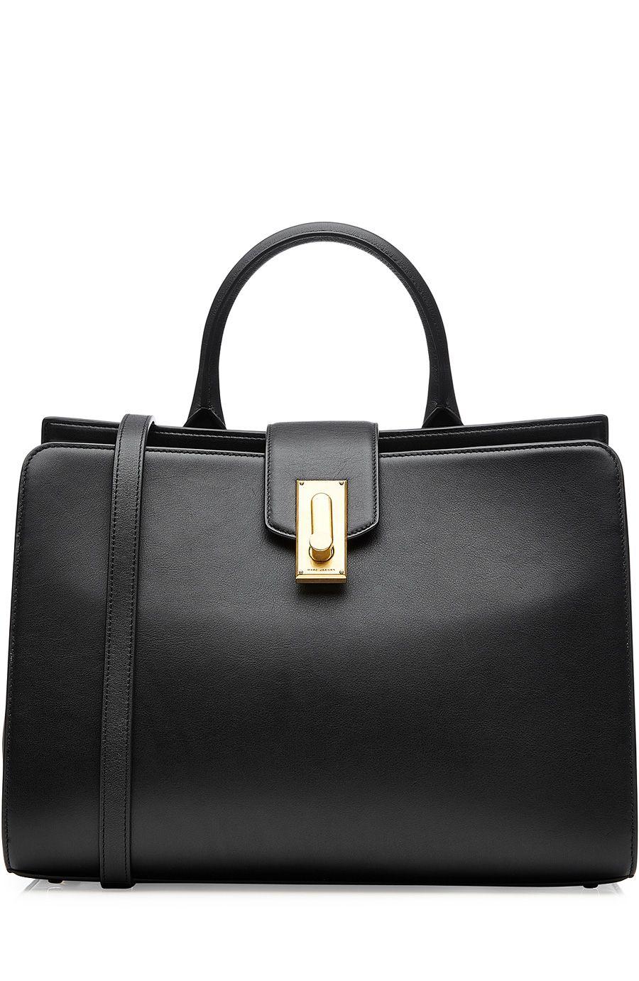 MARC JACOBS West End Medium Top Handle Shoulder Bag. #marcjacobs #bags #leather #lining #denim #metallic #shoulder bags #hand bags #