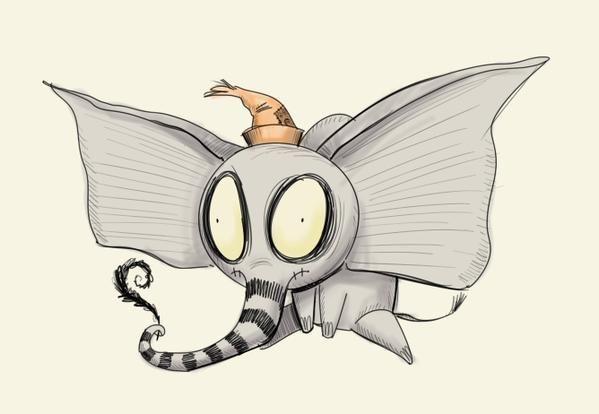 Dumbo by Dennis Cornetta