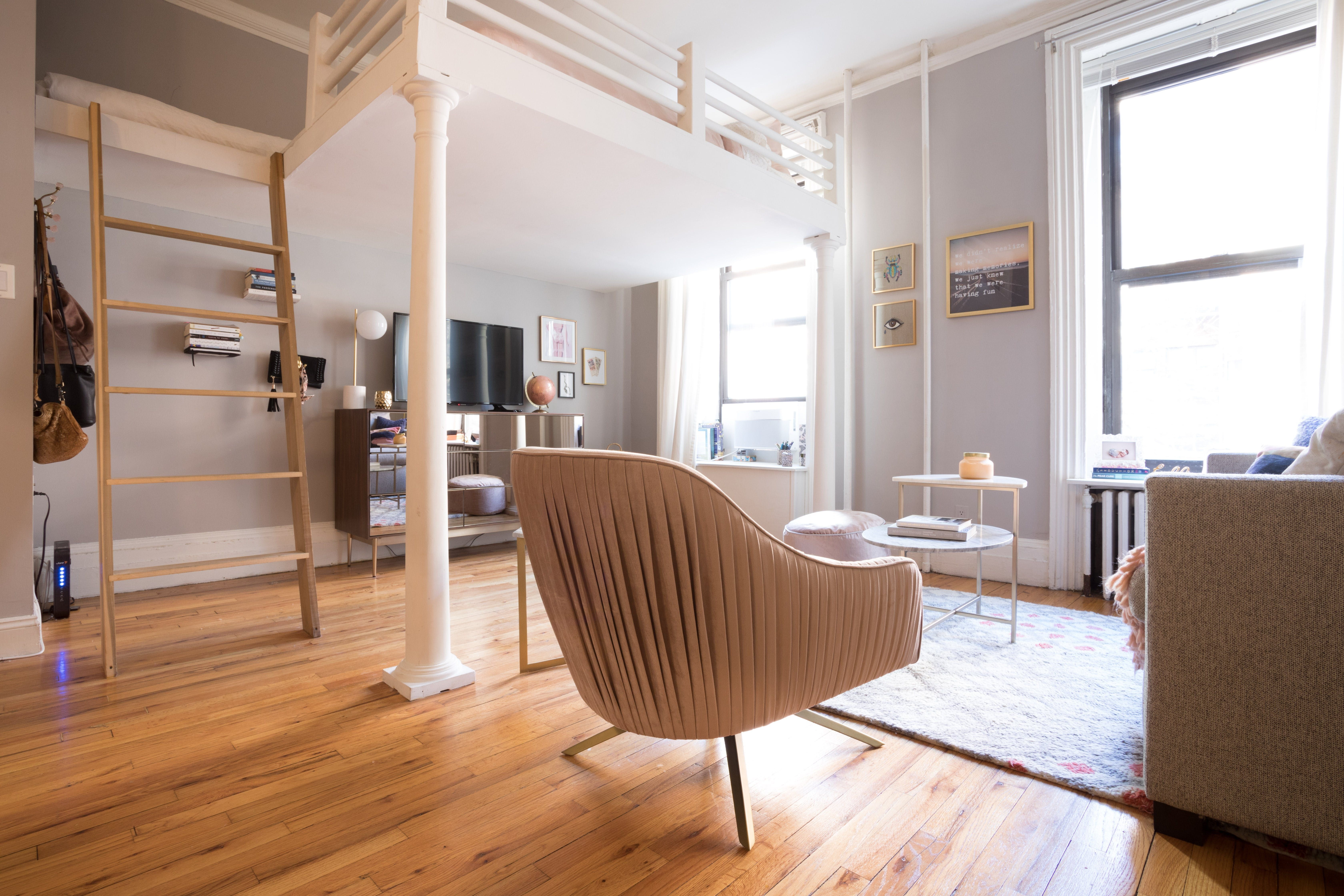 A 325-Square-Foot NYC Studio Is Cute and Sophisticated ...