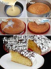Nasses Kuchen-Rezept mit Zitrone, wie man bildet   – pasta #Schokoladenkuchen #K… – Schokoladenkuchen Rezepte