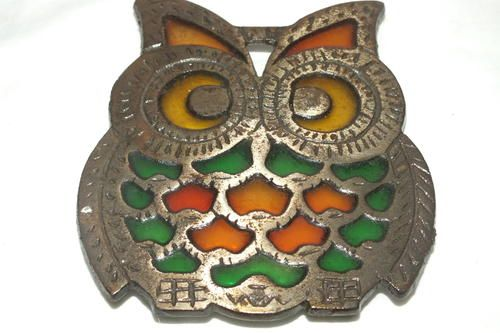 Buy Owl - Shaped Pot Stand - Steel for R40.00