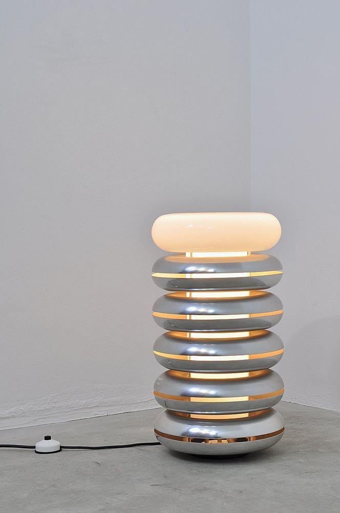60er 70er Floor Lamp By Doria Bodenlampe Lampe Leuchte Tischlampe