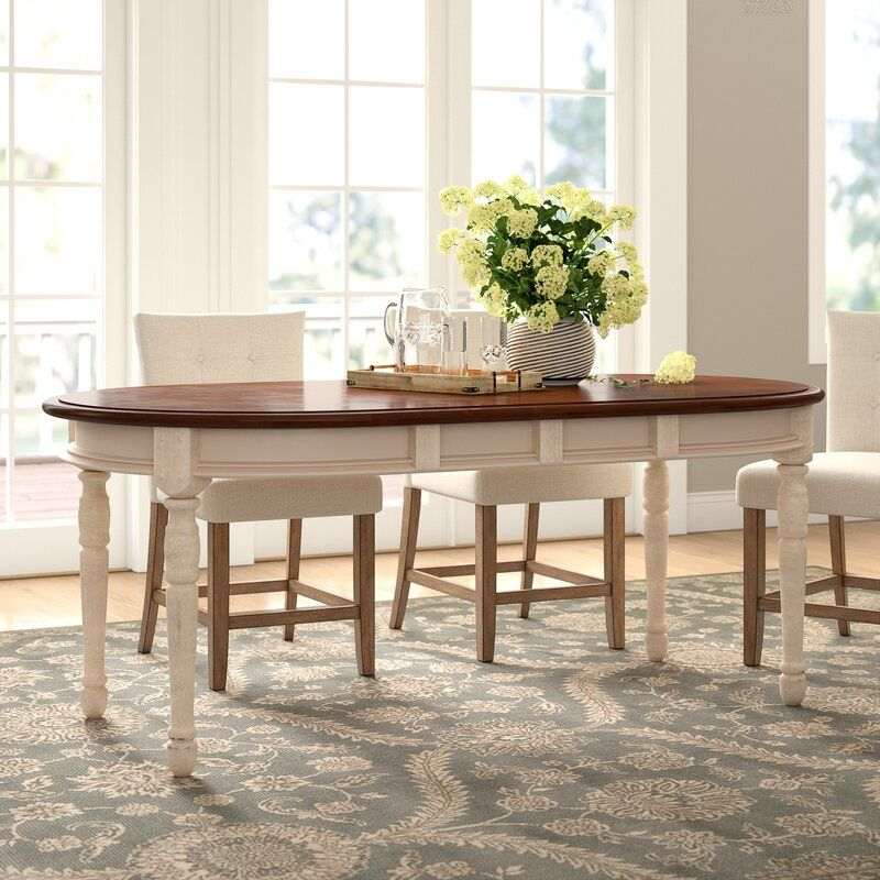 Bickford Extendable Solid Wood Dining Table In 2020 With Images
