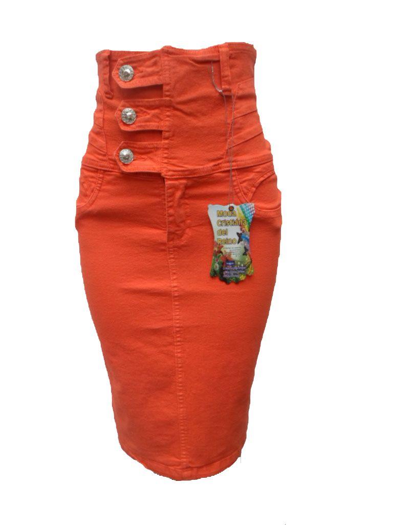775ca7af9f falda fajon en tela crudo stress tallas de la 8 a la 14 colores  blanco
