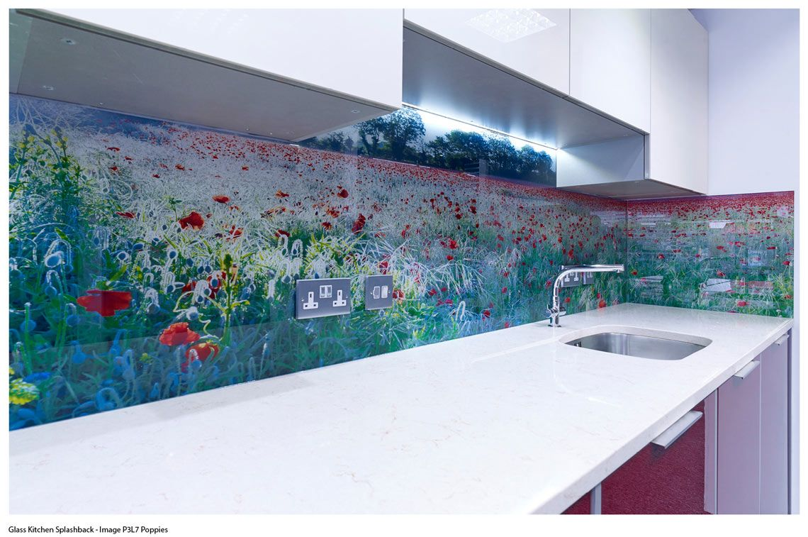 Digital Printed Glass Splashback - Puting your own unique stamp on ...