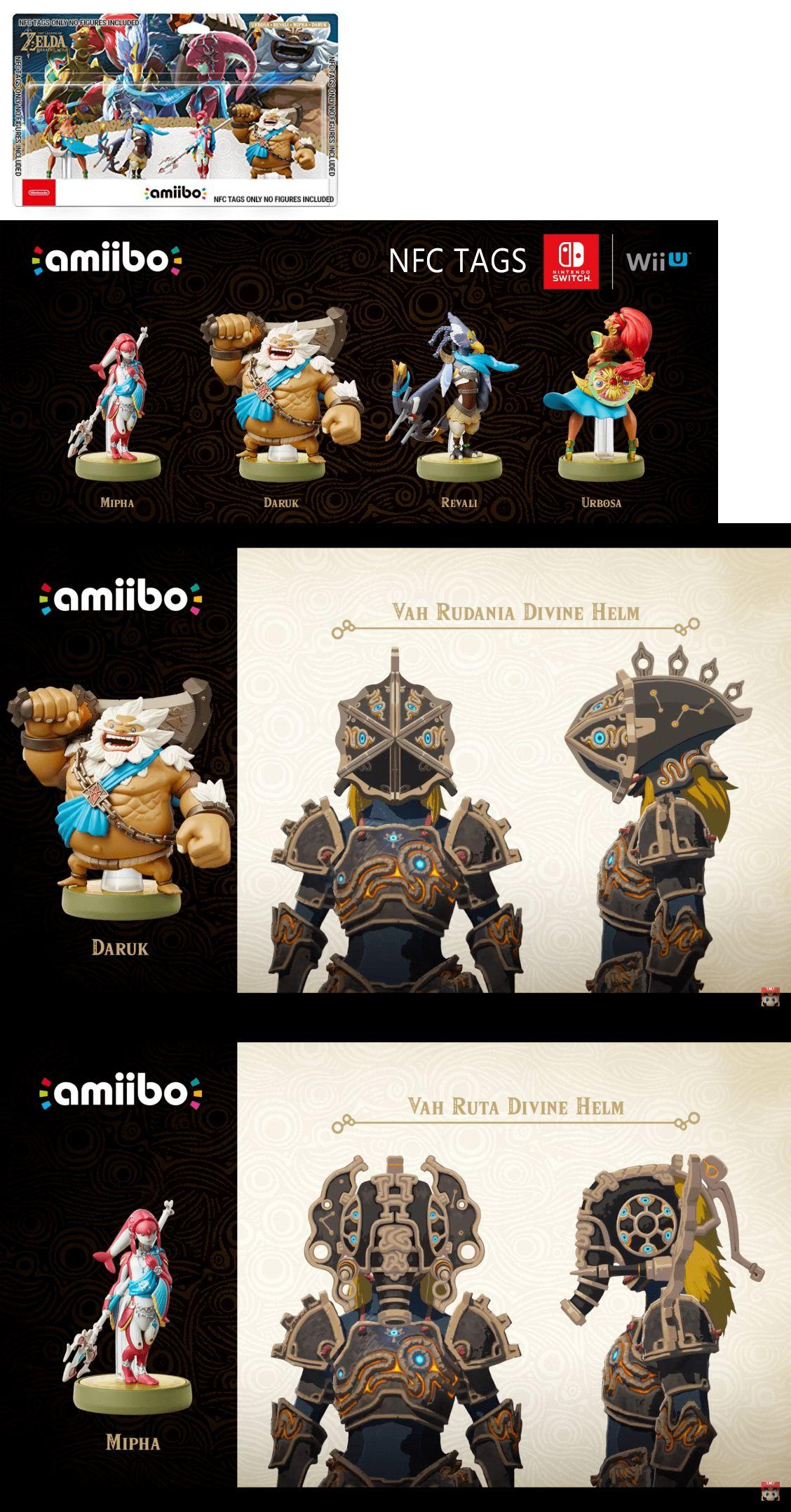 Toys To Life 182180 Breath Of The Wild Zelda Amiibo Champions 4