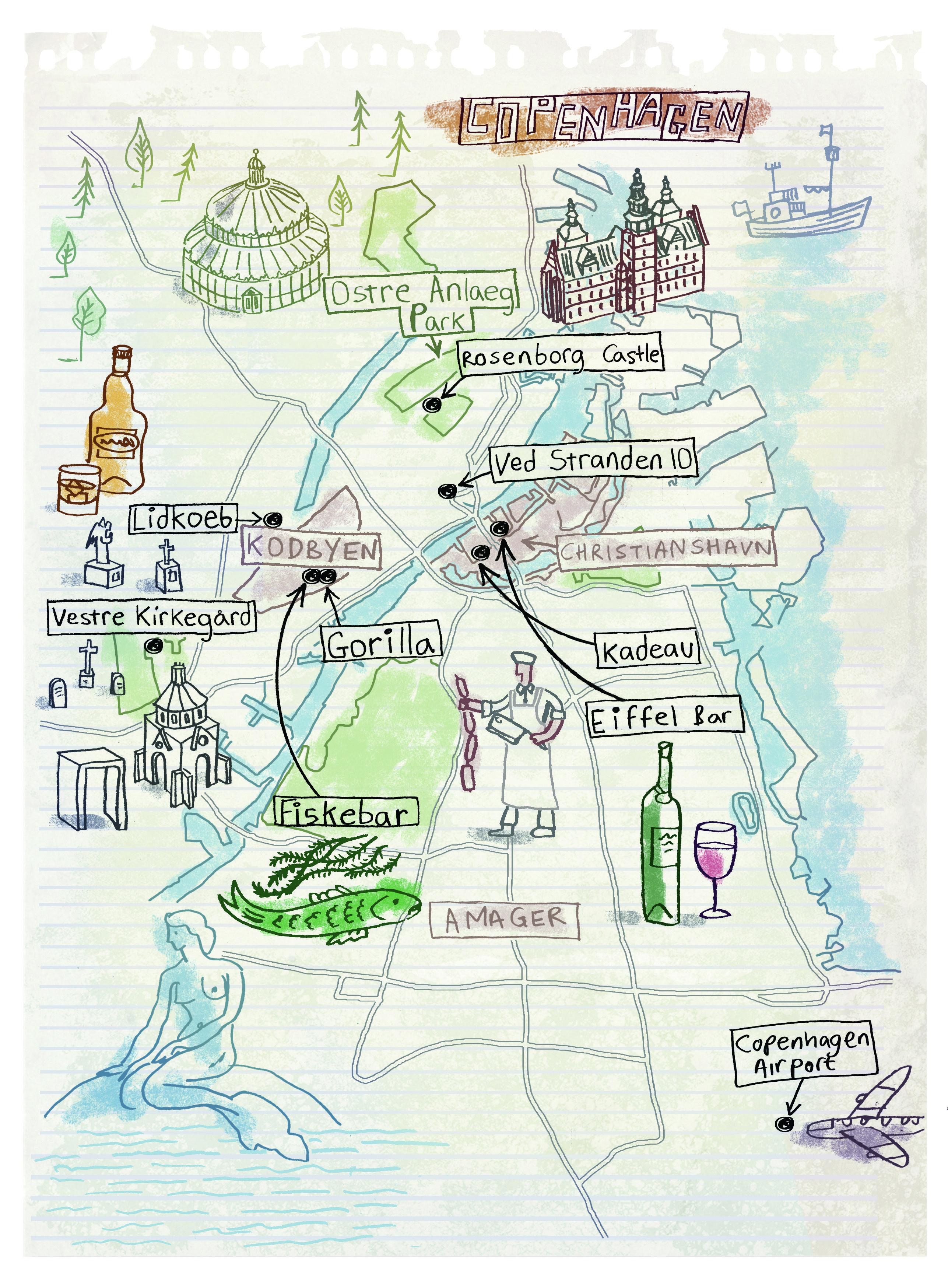 Mapa Turistico De Copenhague.Mapa De Copenhagen Dinamarca Viajes Viajar Turismo En