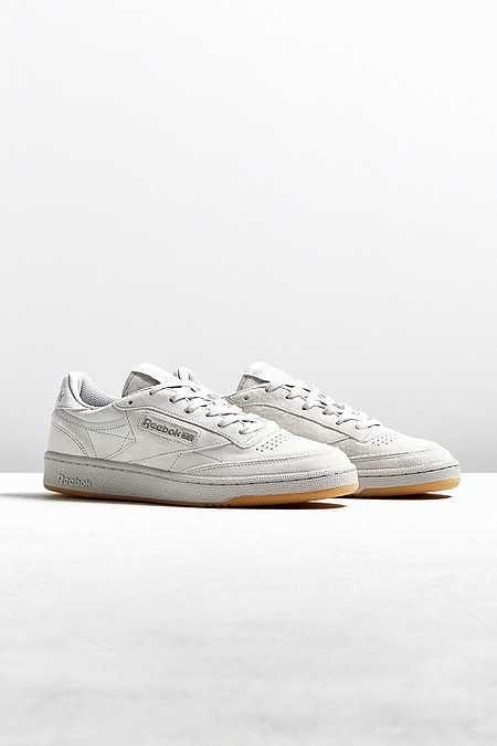 6e15079edf4 12 Best Walking Shoes for Men. Reebok Club C 85 TG White Sneaker