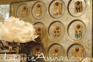 LaurieAnna's Vintage Home: Repurposed for Bling