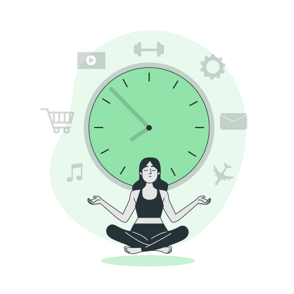 Time Management By Freepik Stories Svg Png Illustration Work Schedule Time Timetable Management Arran Time Management Cartoon Illustration Mind Map Art