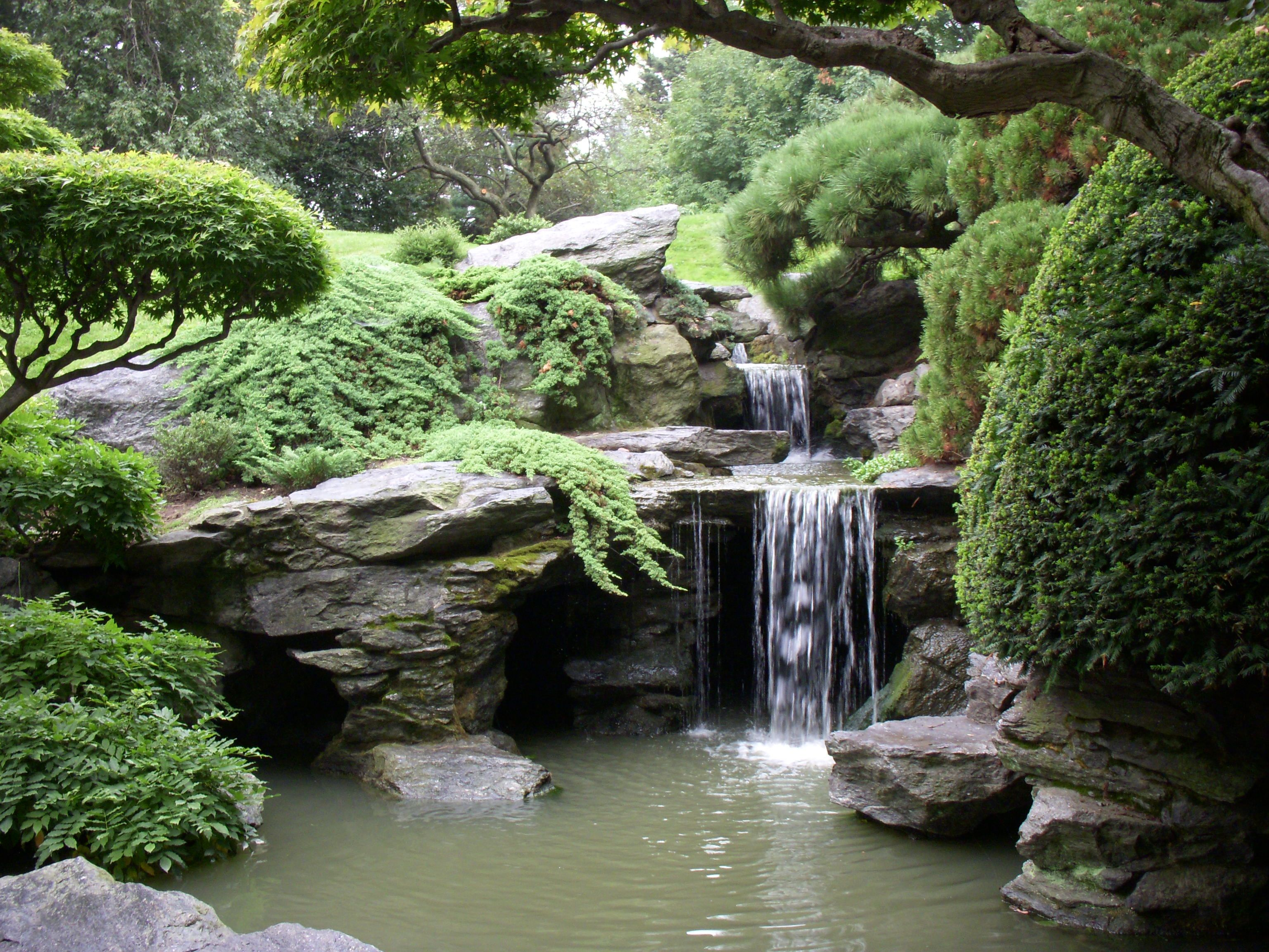 Japanese Hill And Pond Garden North American Japanese Garden Association New York 2015 Japanese Garden Japanese Garden Design Japanese Water Feature