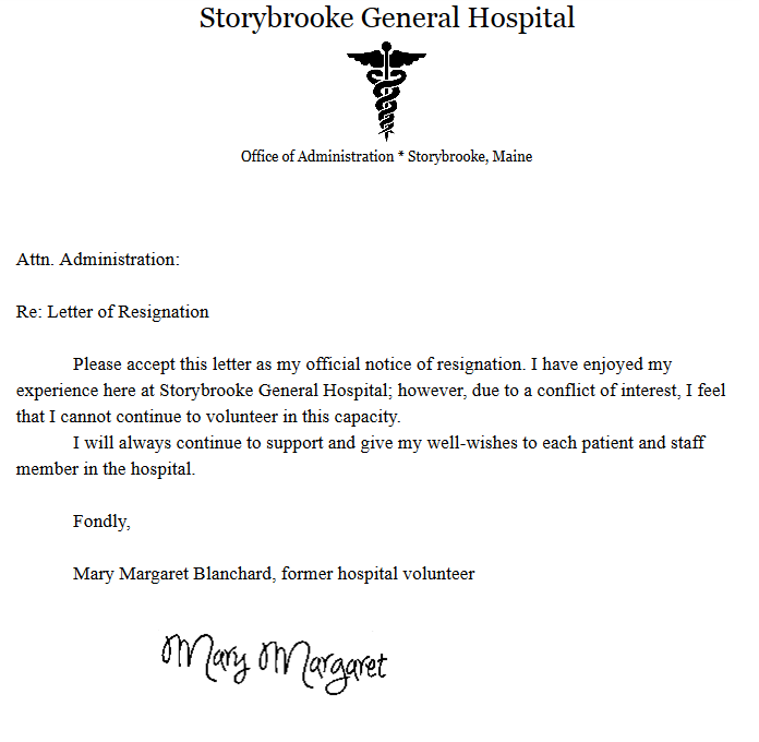 Storybrooke Live  Letter Of Resignation SE  Disney