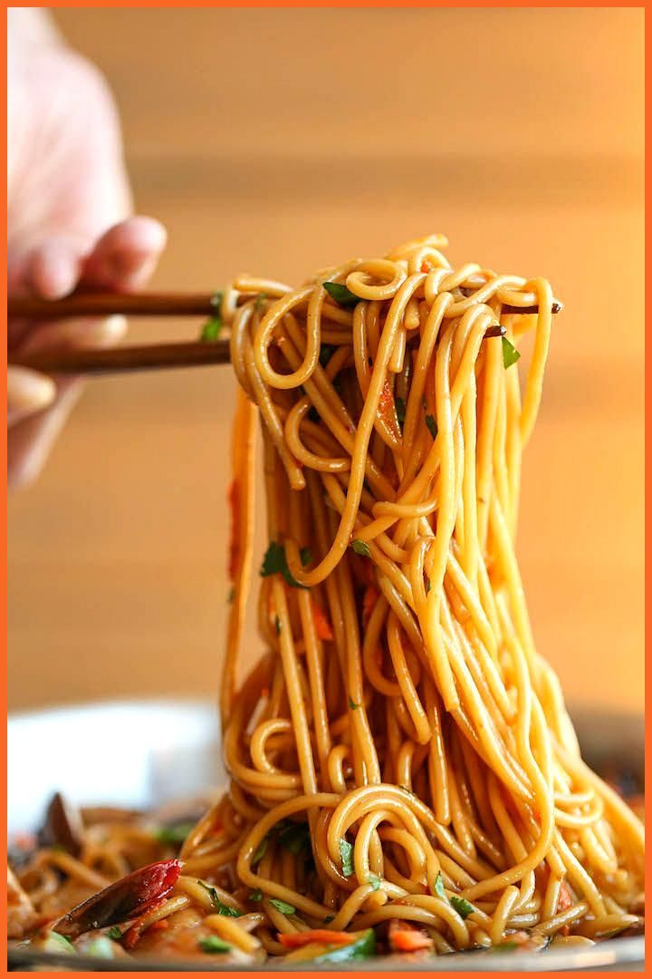 Asian Garlic Noodles Asian Garlic Noodles,
