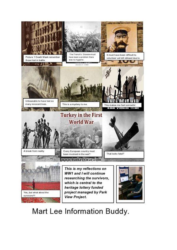 """Park View Project on Twitter: """"Here is Mart's storey board WW1 Heritage Project. Why not get involved#informationoneplace https://t.co/yyp2zXCIDI"""""""