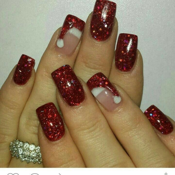 Pin By Edith Zagal On Uas Pinterest Winter Nails Manicure And