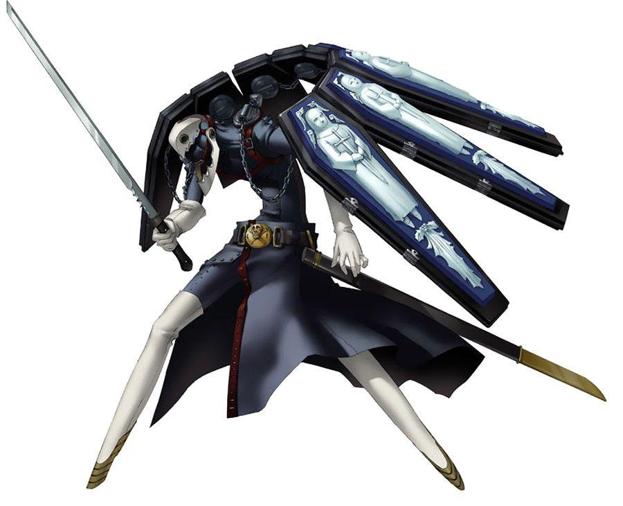 Thanatos Persona Characters Art Persona 4 Arena