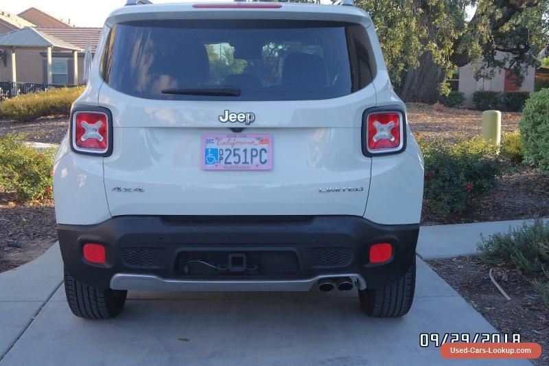 2015 Jeep Renegade Limited 4x4 Jeep Renegade Forsale Usa