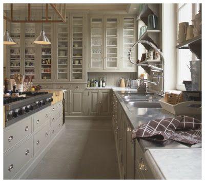 Belle deco cuisine cottage anglais : A voir sur http://www ...