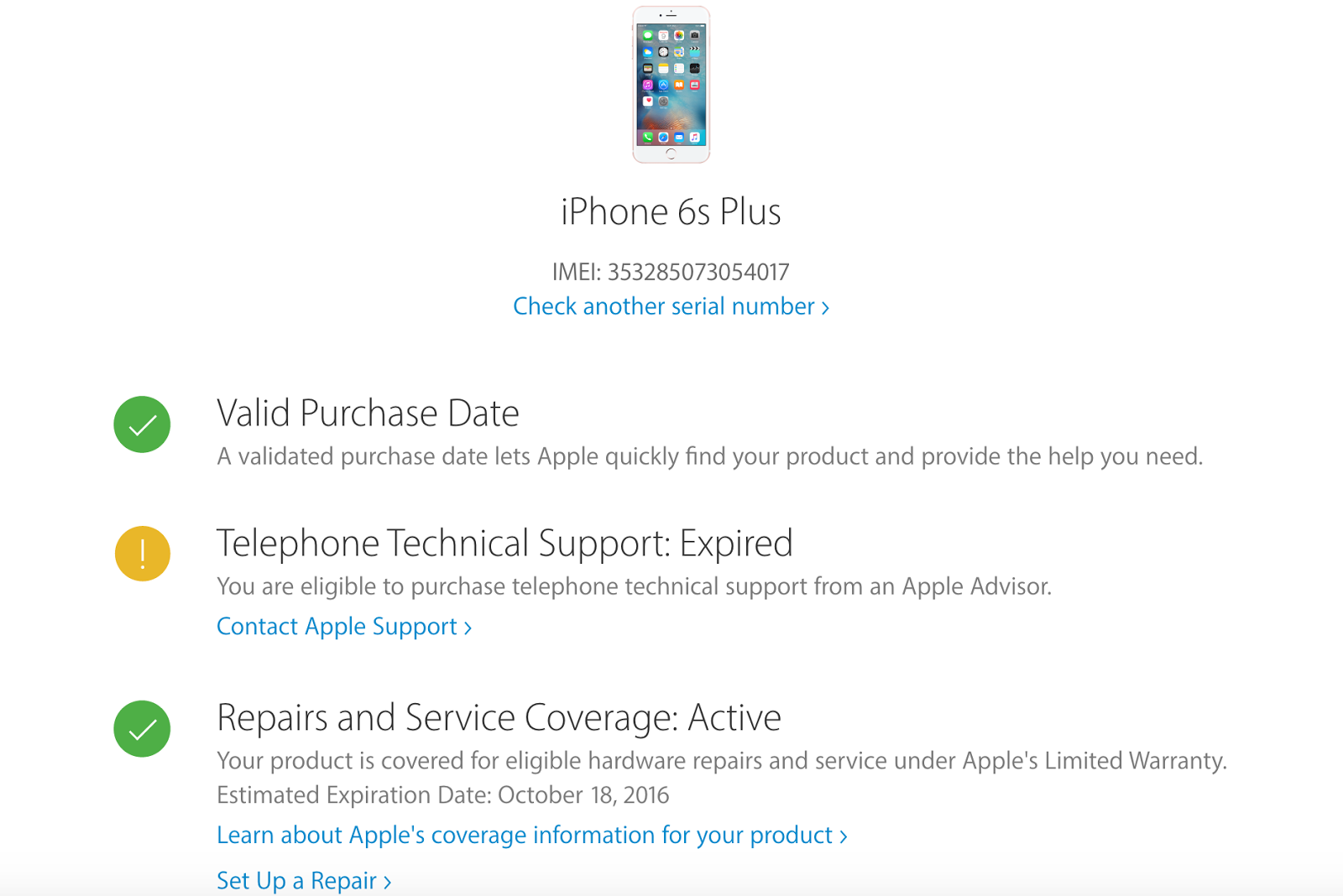 Apple Warranty Check Online for iPhone, iPad or iPod Touch