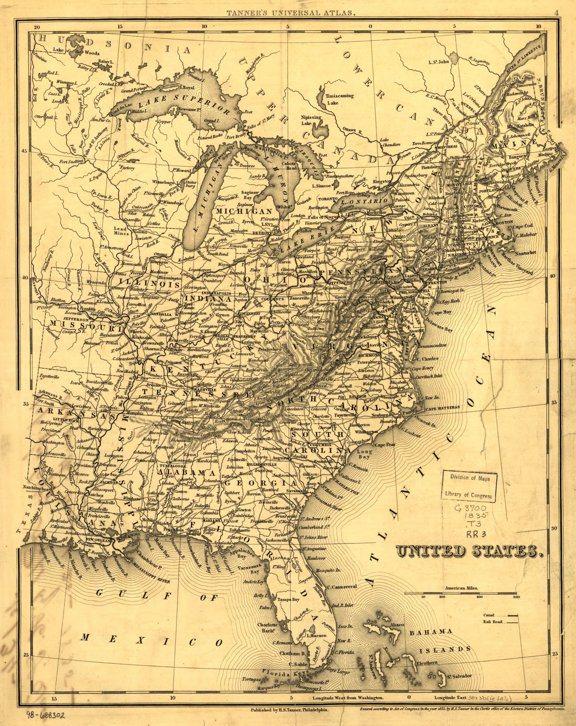 Library of Congress Online Railroad Map Collection 1828-1900 | Map ...