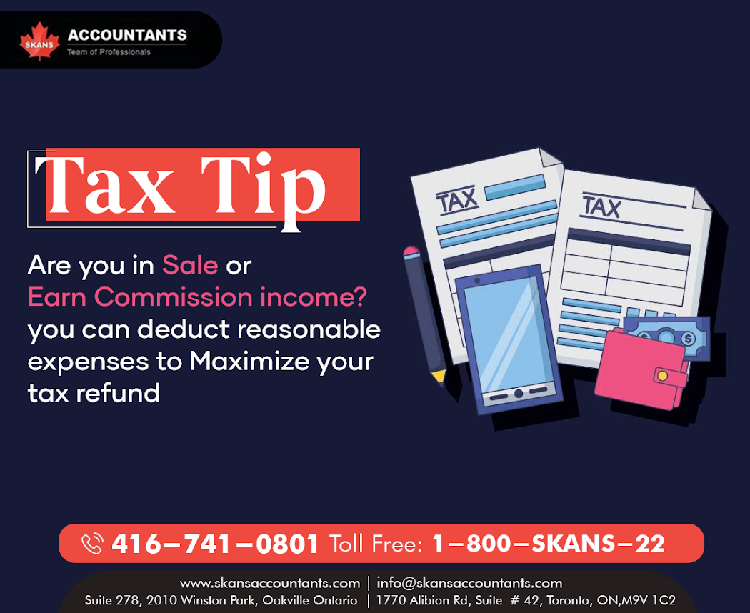 Tax Tip of the Day by Skans Accountants. For More Info