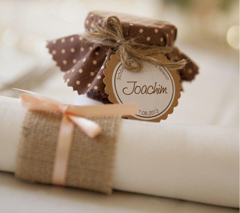 diy marmeladengl ser mit vintage stoffen als gastgeschenke teil 1 wedding hochzeit and weddings