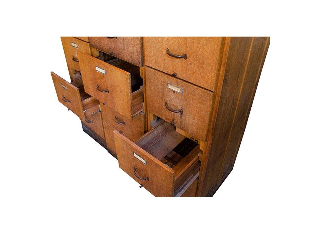 meuble classeur bois vintage furnishings objects collection pinterest meuble classeur. Black Bedroom Furniture Sets. Home Design Ideas