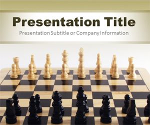 become a chess master with this free powerpoint template with, Powerpoint templates