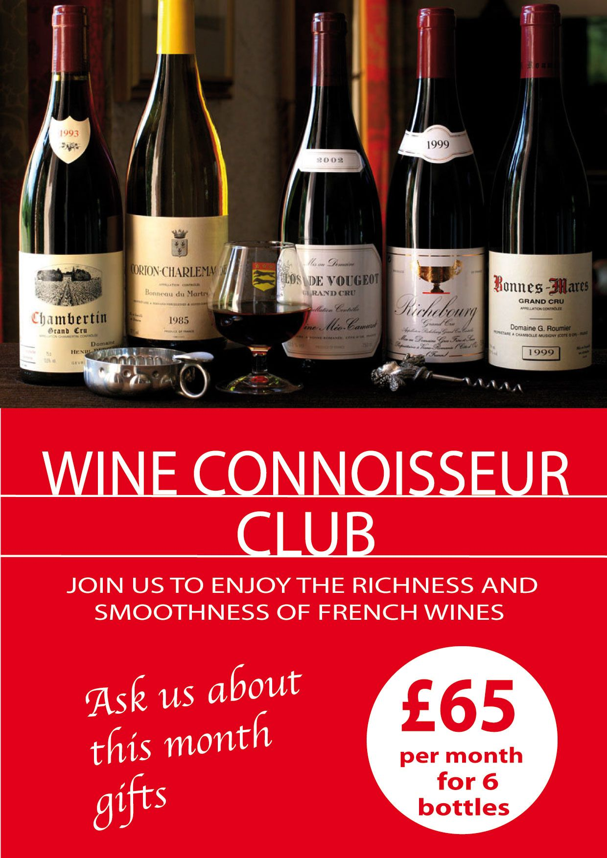One Month Subscription For Your Mum At 65 Go To Http Www Leshop Je Mothers Day 1 Wine Connoisseur French Wine Month Gifts