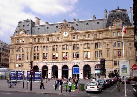 Gare saint lazare trafic perturb apr s une agression - Restaurant gare saint lazare ...