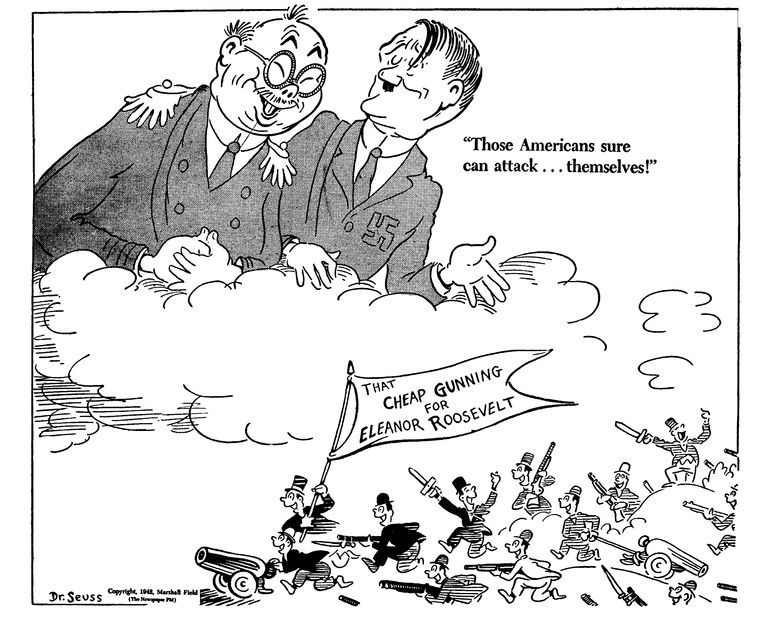 Dr. Seuss\'s World War II Political Propaganda Cartoons | Pinterest ...