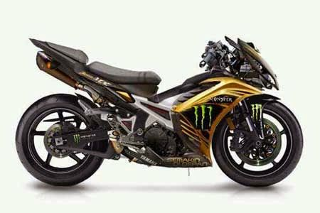 Gambar Modifikasi Yamaha Jupiter Mx Motor Motor Yamaha Mobil