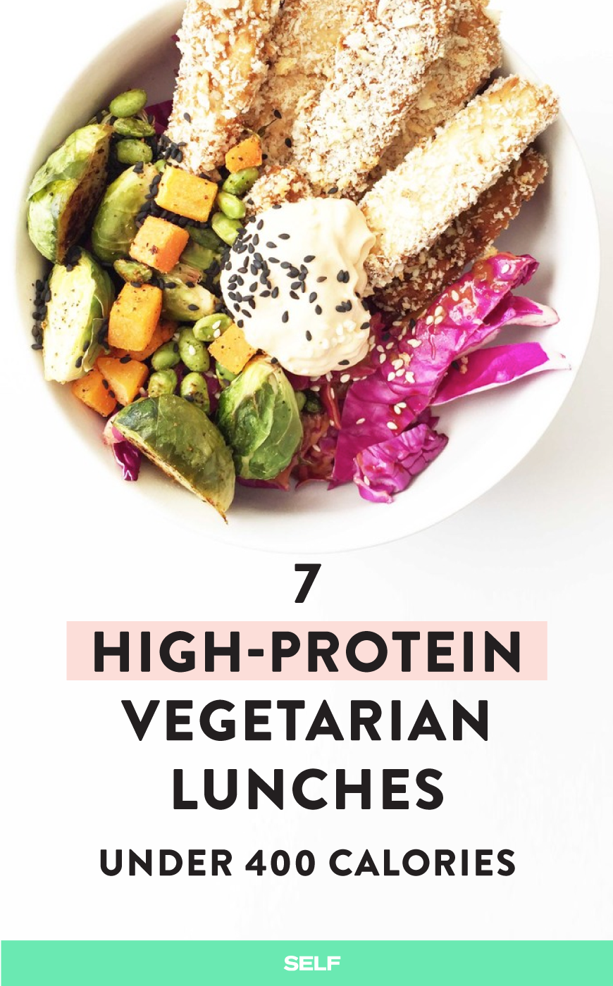 7 High Protein Vegetarian Lunches Under 400 Calories
