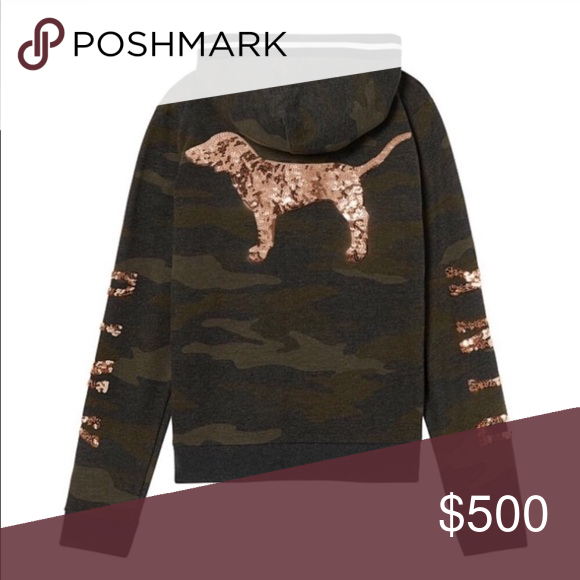 ISO Victoria secret pink bling camo hoodie jacket IN SEARCH