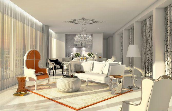 Extravagant Living Room Ideas Inspired By Philippe Starck Luxury Living Room Interior Interior Designers