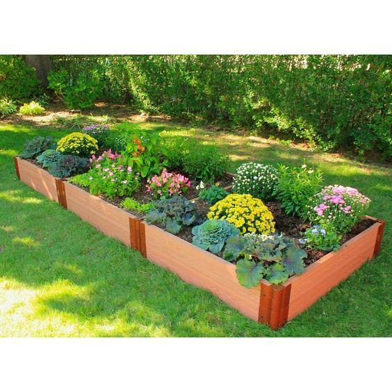 Wood Plastic Composite Flower Boxes Agent In Mauritius Diy Plastic Lumber Flower Box Raised Garden Diy Raised Garden Building A Raised Garden