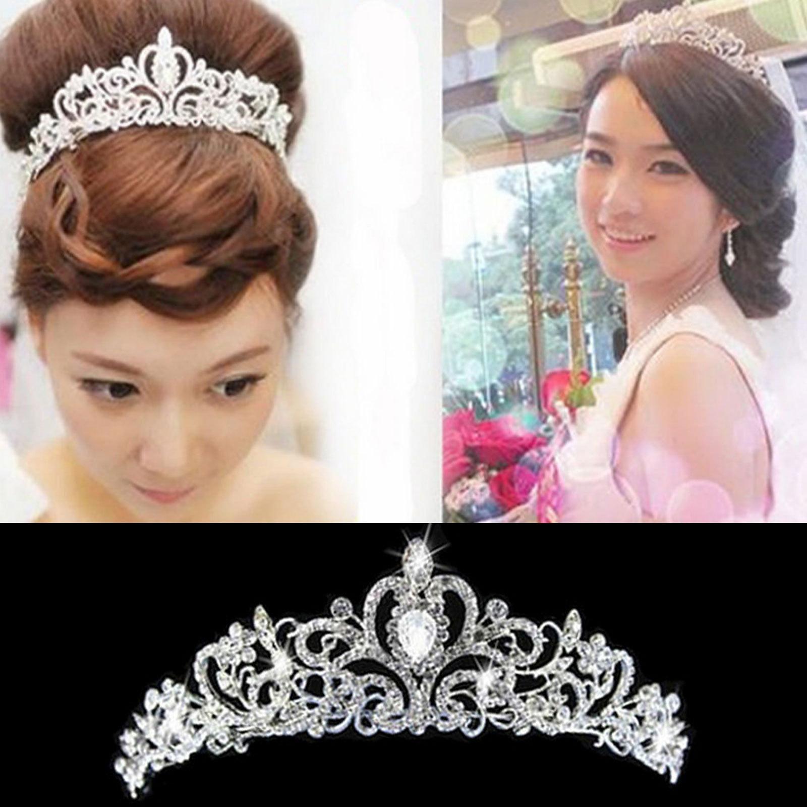 Wholesale Wedding Bridal - Buy WEDDING BRIDAL RHINESTONE CRYSTAL VICTORIAN CROWN TIARA HAIRBAND HEADBAND, $15.0 | DHgate