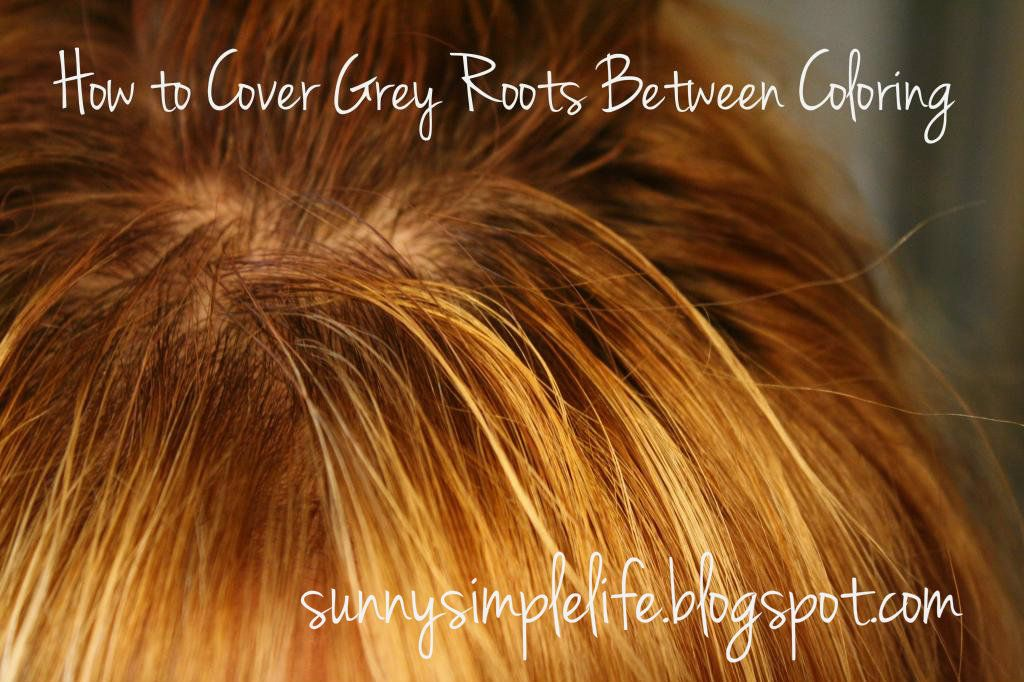 How to Cover Your Grey Roots Between Colorings | Covering ...
