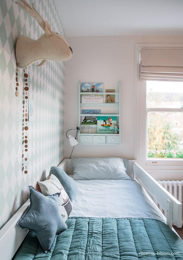 Childrens Interior Design Scandinavian Mint And Blue Girls Room