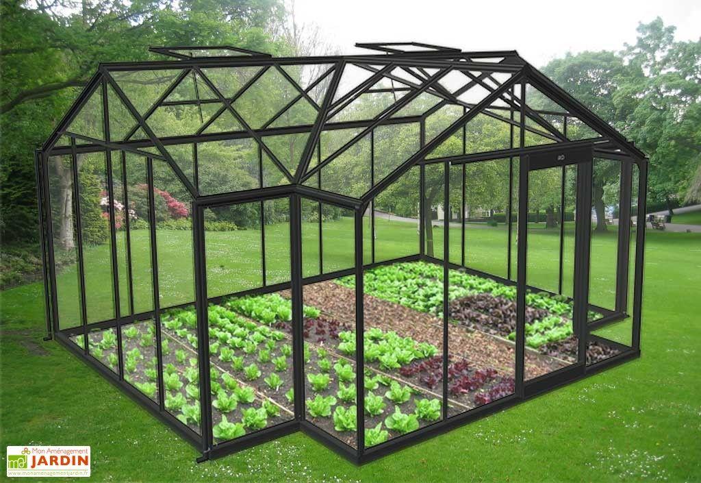 Serre De Jardin Orangerie 15 79 M Serre Jardin Jardins Jardin Exterieur