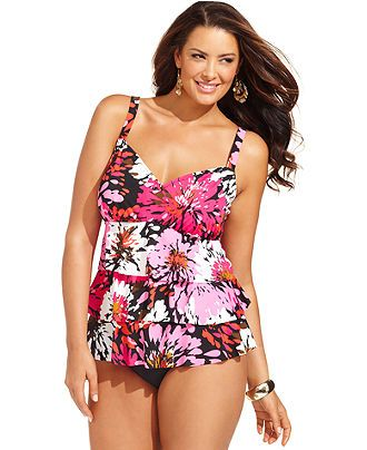 5daea0daea1ac Swim Solutions Plus Size Swimsuit